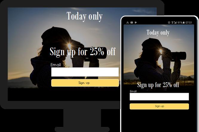 Landing page: Digital marketing by Lumini Online | Bloemfontein